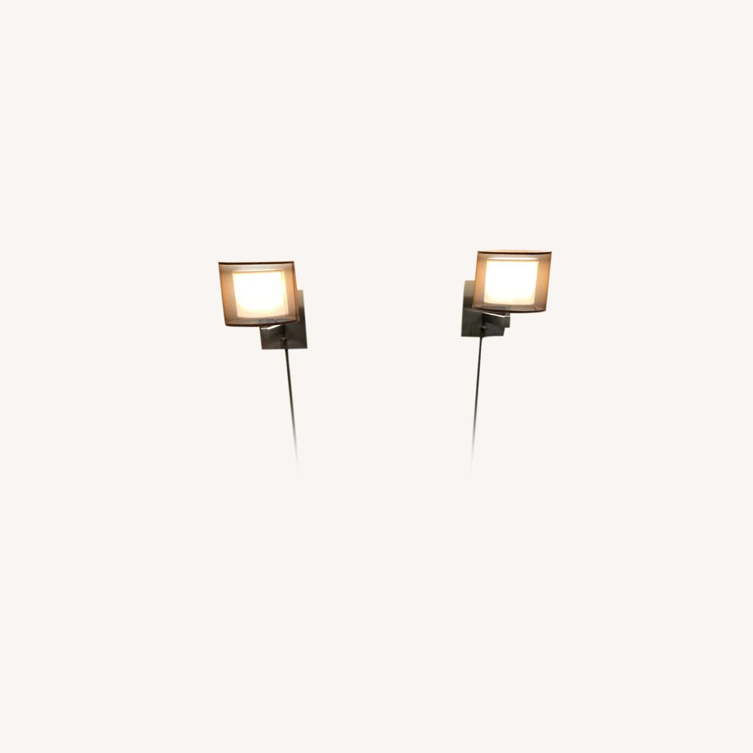 Lowe's 2 Wall Sconces - image-3