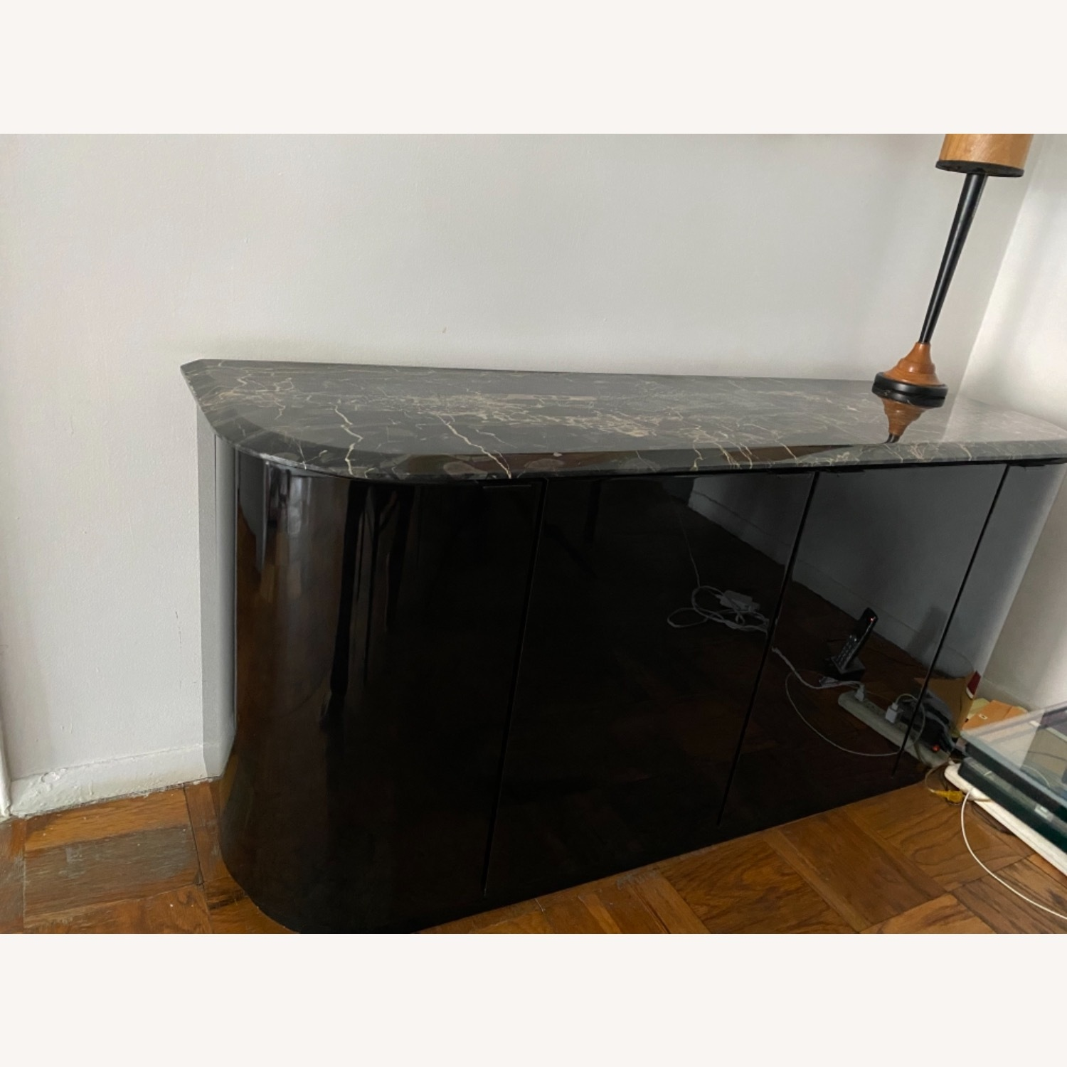Maurice Villency Black Lacquer Credenza - image-2