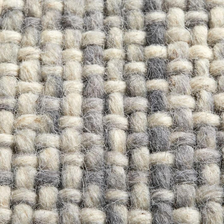West Elm Heathered Basketweave Wool Rug - image-2