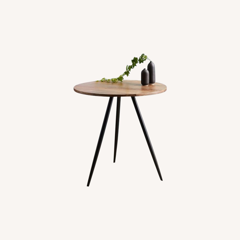 West Elm Wren Bistro Table, Round - image-0