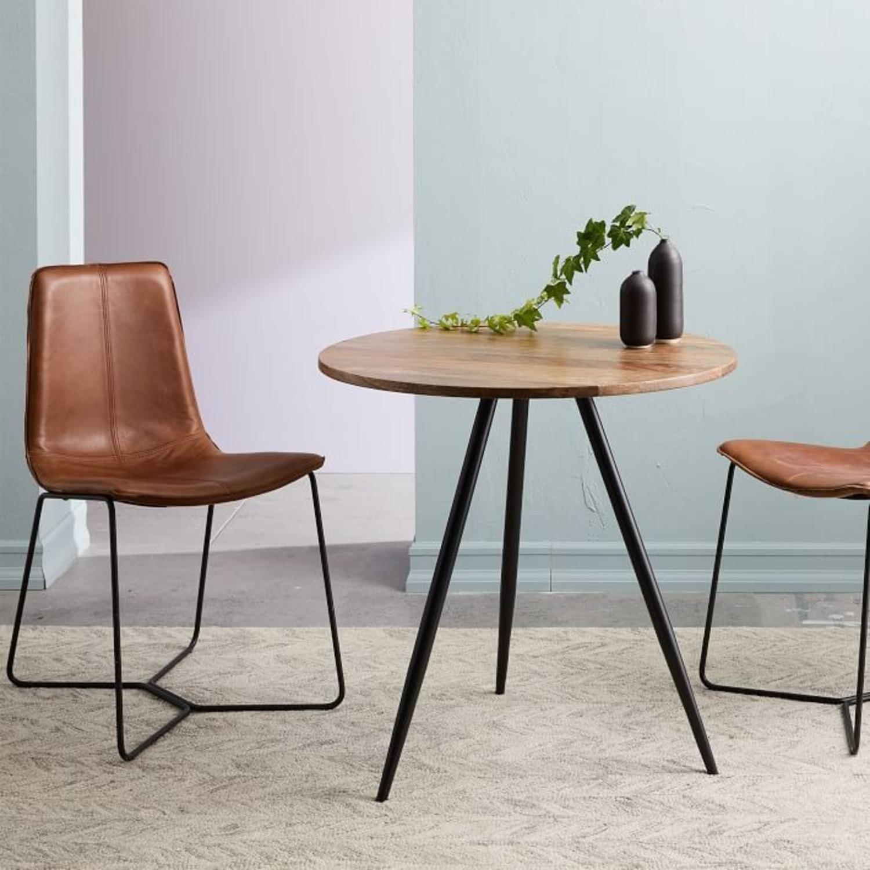 West Elm Wren Bistro Table, Round - image-1