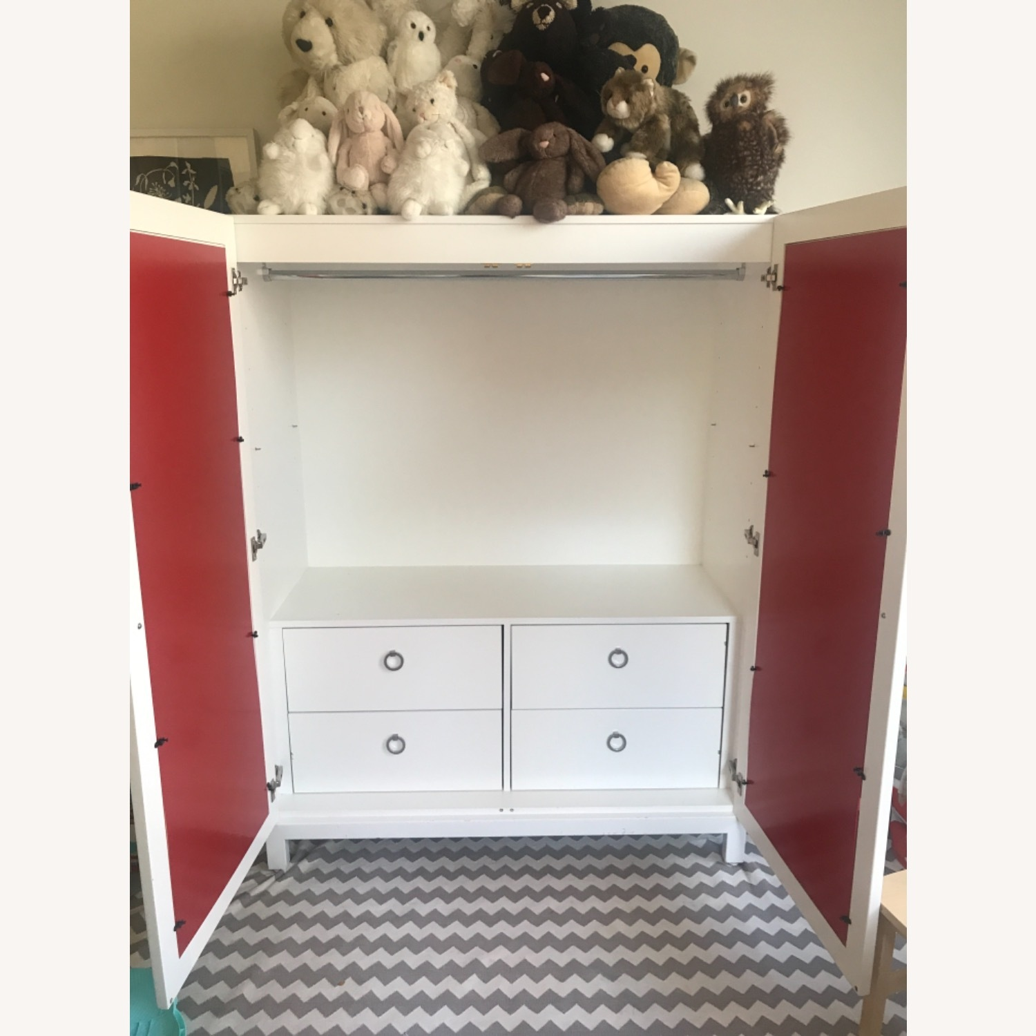 DucDuc Cabana Armoire Red - image-2