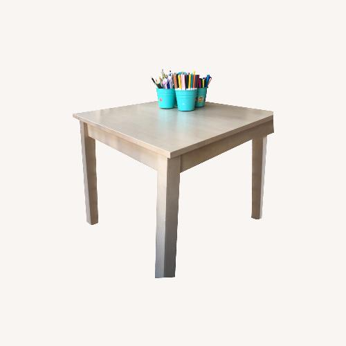 Used Land of Nod Play Table Natural for sale on AptDeco