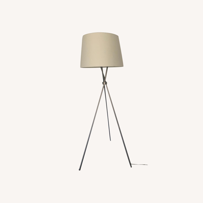 Pottery Barn Tripod Lamp - image-0