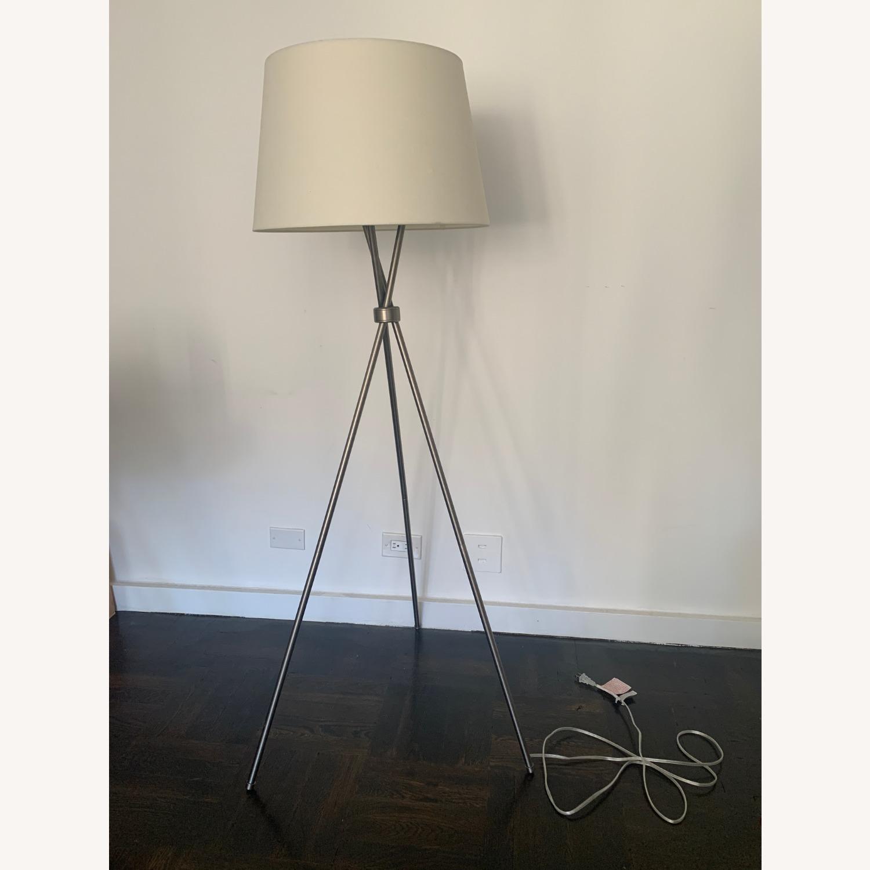 Pottery Barn Tripod Lamp - image-1