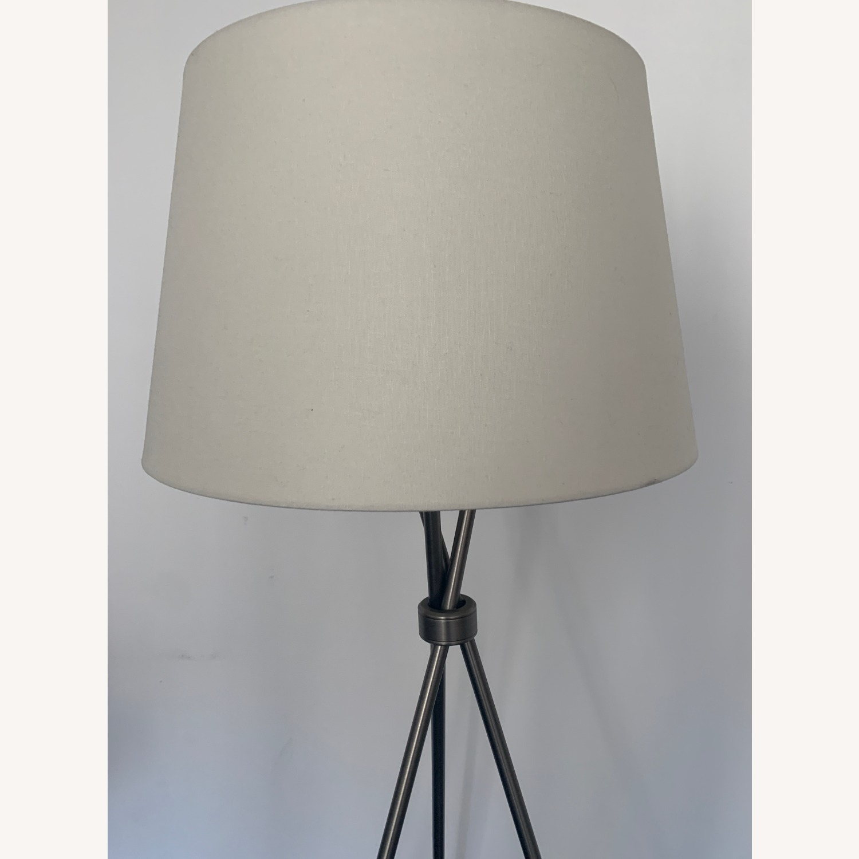 Pottery Barn Tripod Lamp - image-3