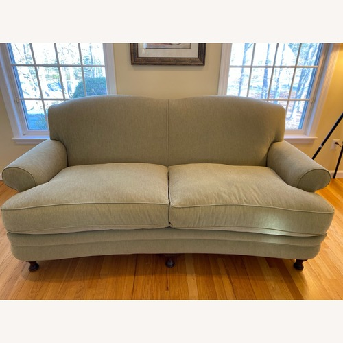 Used Town&Country Sage Green Couch for sale on AptDeco