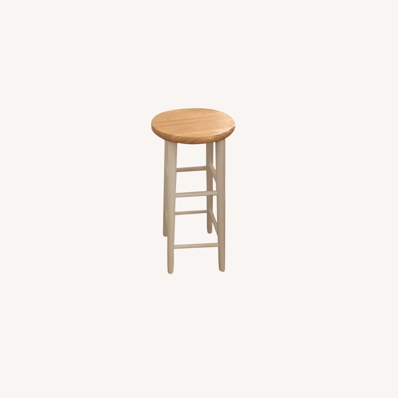 Target Sturdy Wood Bar Stools - image-0