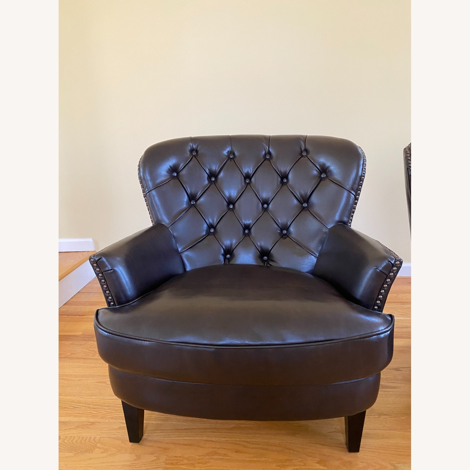Bonded Leather Club Chair - image-4