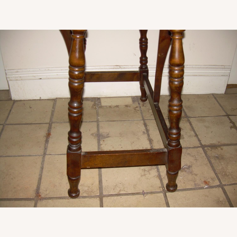 Distressed Multi use Drop Leaf Table - image-5