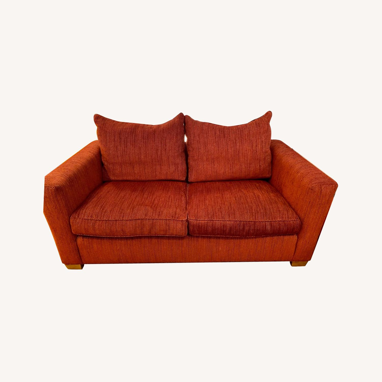 Ethan Allen Contemporary Goose Down Pillow Full Sleeper Sofa - image-0