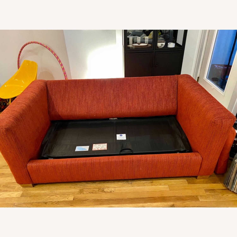 Ethan Allen Contemporary Goose Down Pillow Full Sleeper Sofa - image-5