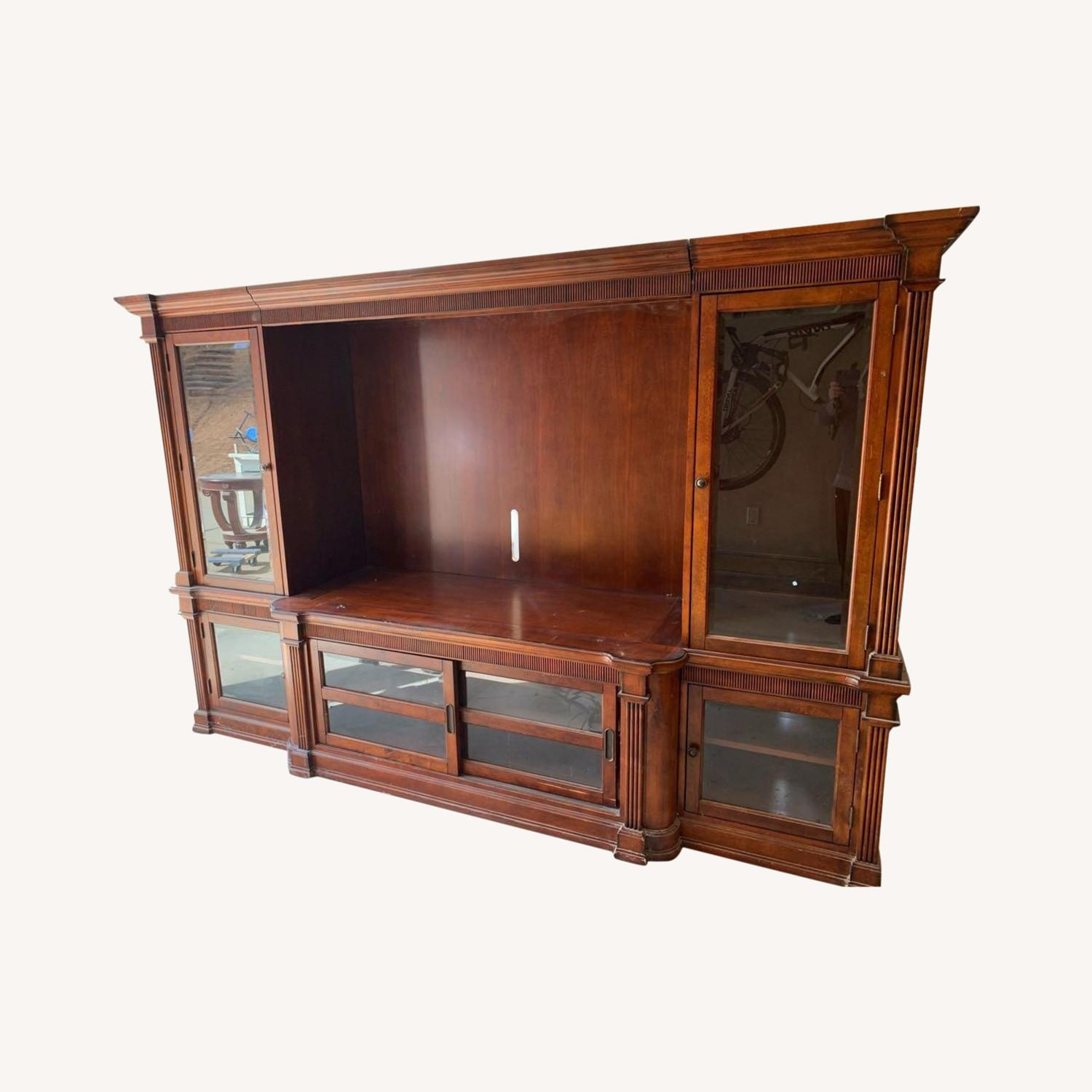 Basset John Elway Entertainment Center Wall Unit - image-0