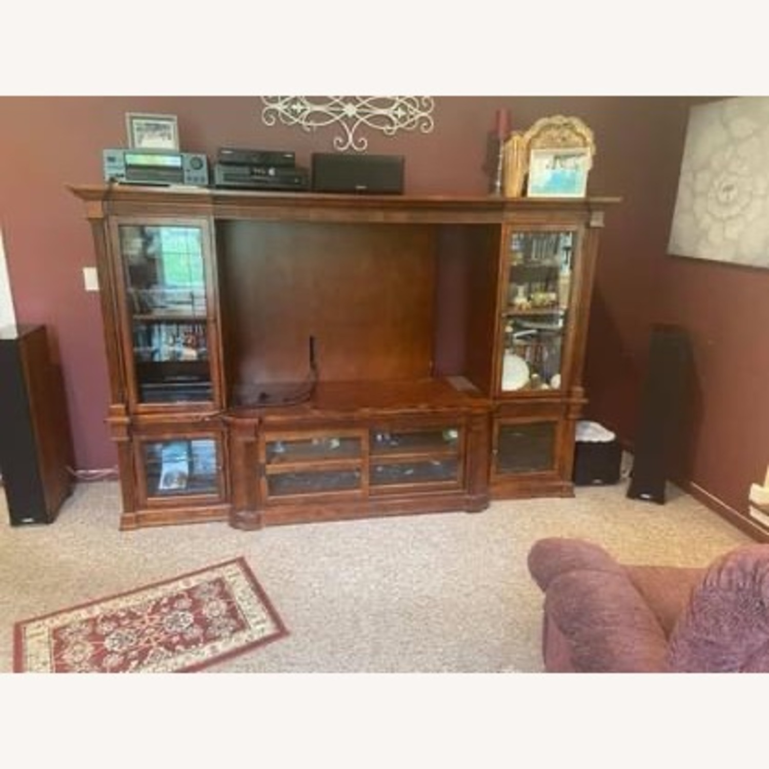 Basset John Elway Entertainment Center Wall Unit - image-3
