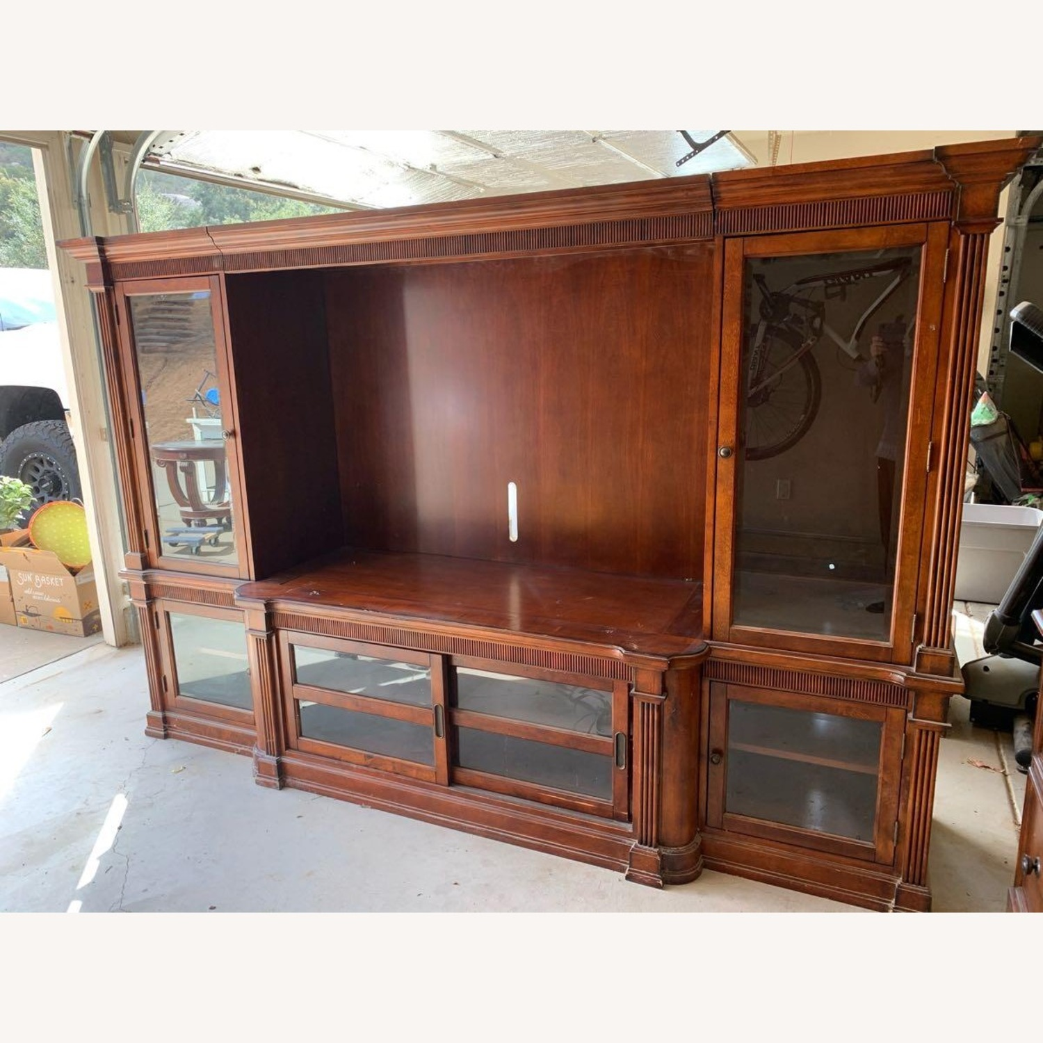 Basset John Elway Entertainment Center Wall Unit - image-1