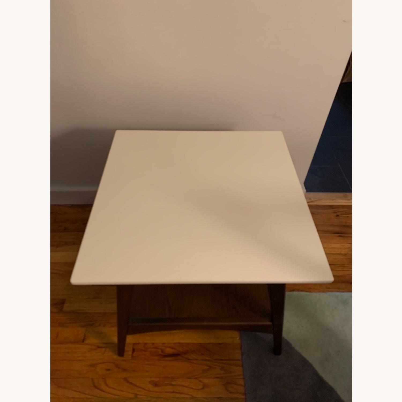 End Table White/Pecan/Parker - image-3