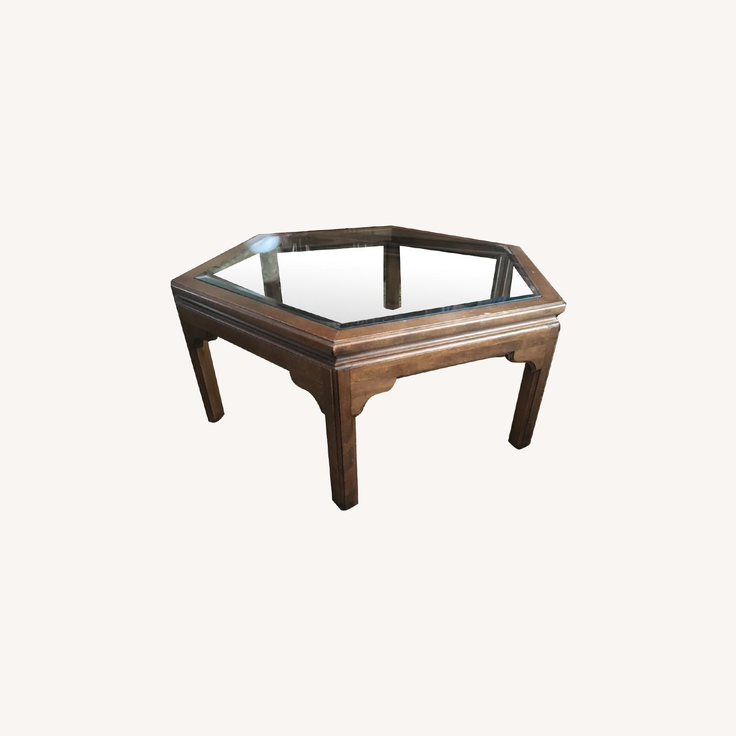 Ethan Allen Manor Collection Coffee Table - image-0