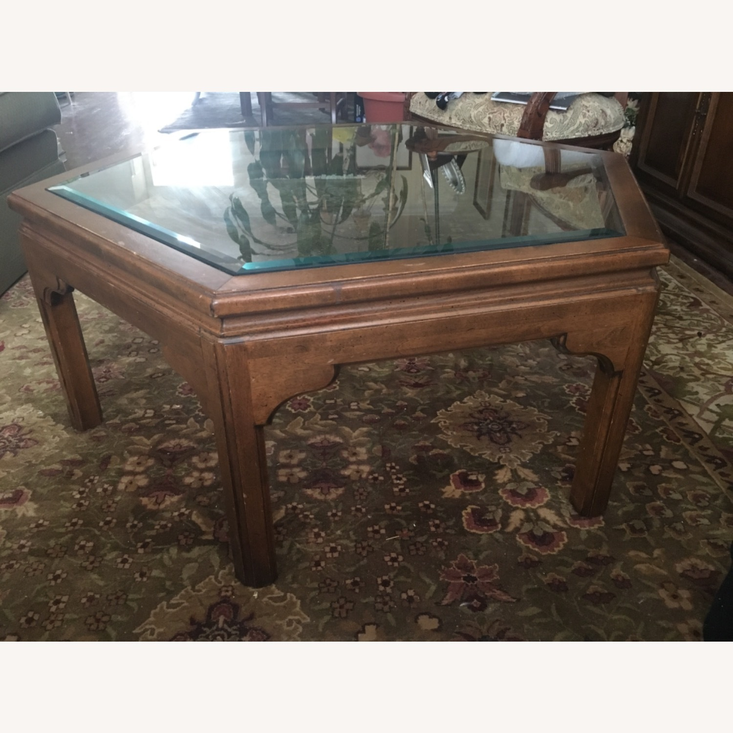 Ethan Allen Manor Collection Coffee Table - image-3