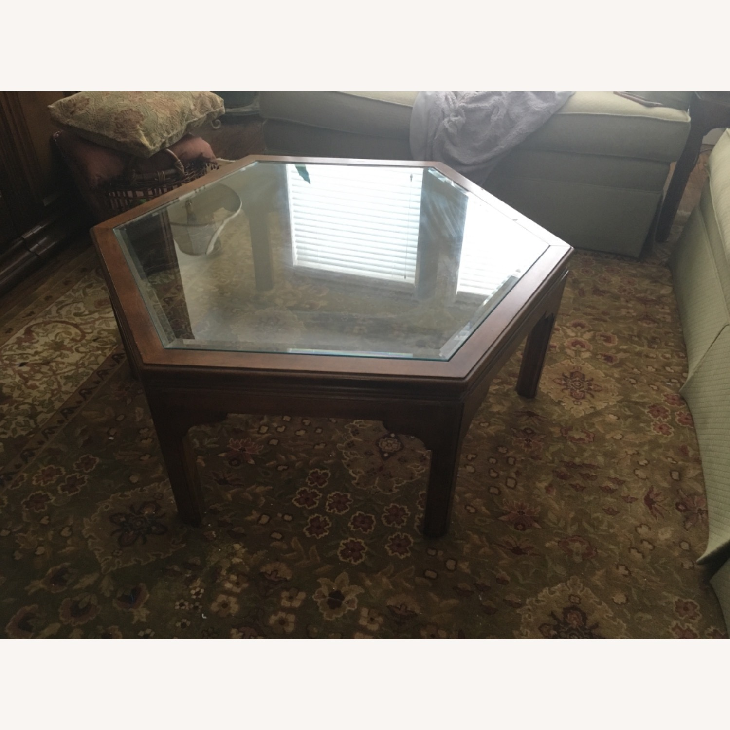 Ethan Allen Manor Collection Coffee Table - image-2