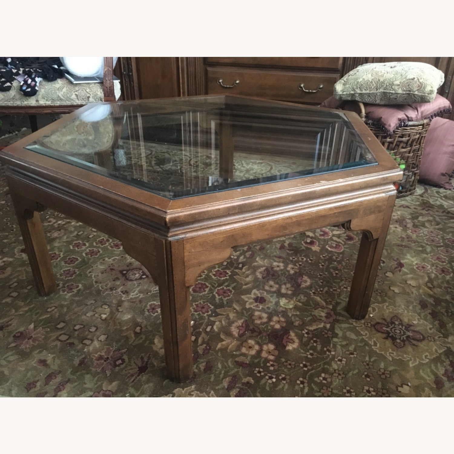 Ethan Allen Manor Collection Coffee Table - image-1