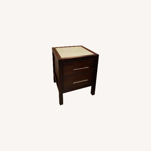 Used Copeland Furniture Modern Wooden Side Table Set 2 for sale on AptDeco