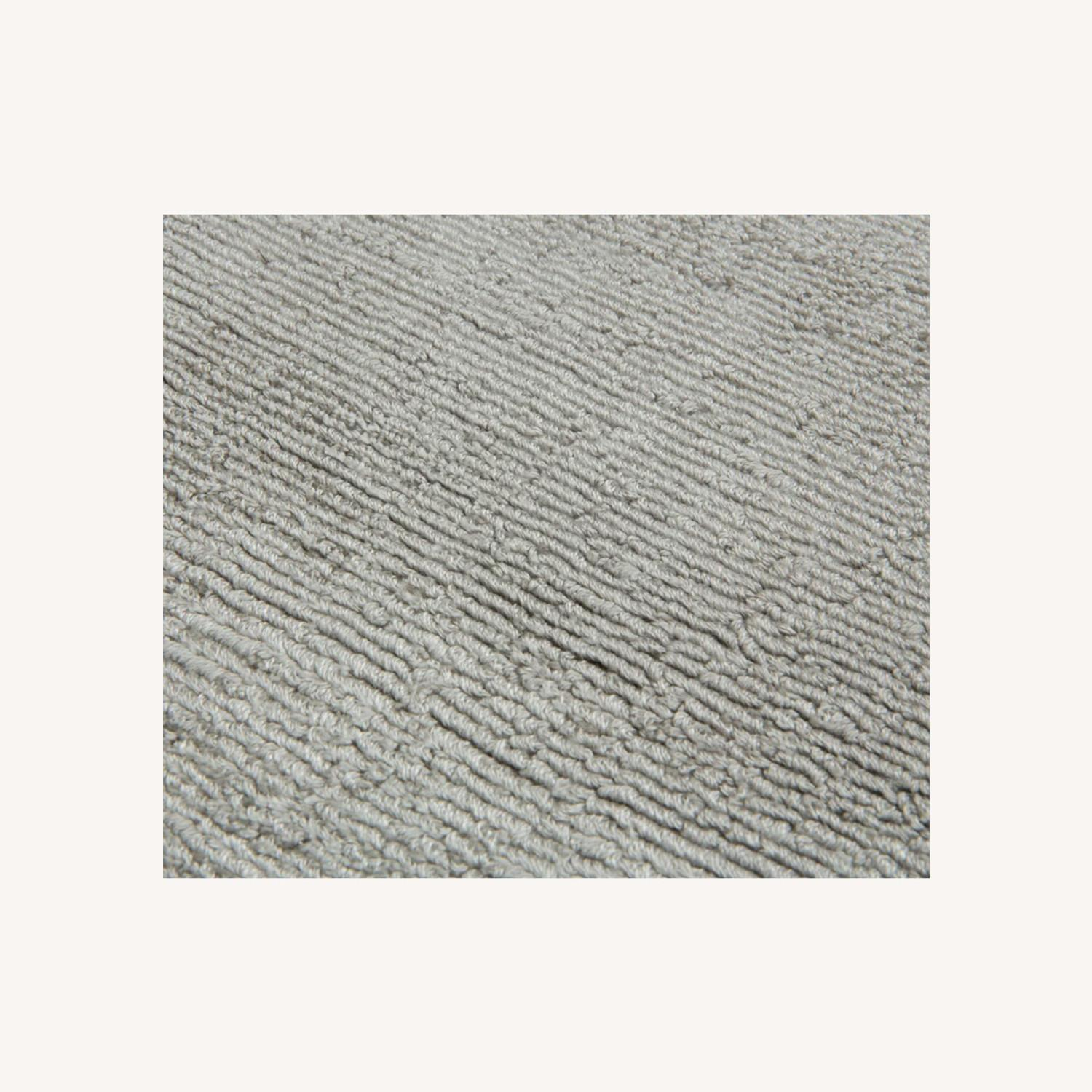 Article Silver Color Rug - image-0