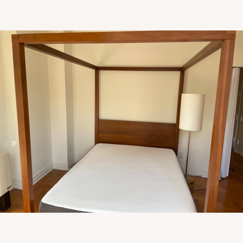 West Elm Sawyer Canopy Bed - image-3