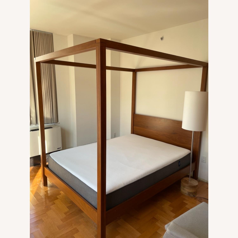 West Elm Sawyer Canopy Bed - image-1