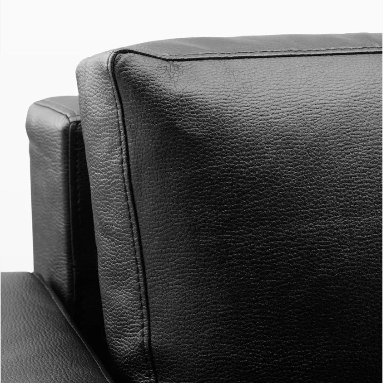 IKEA Black Sleeper Sofa - image-2