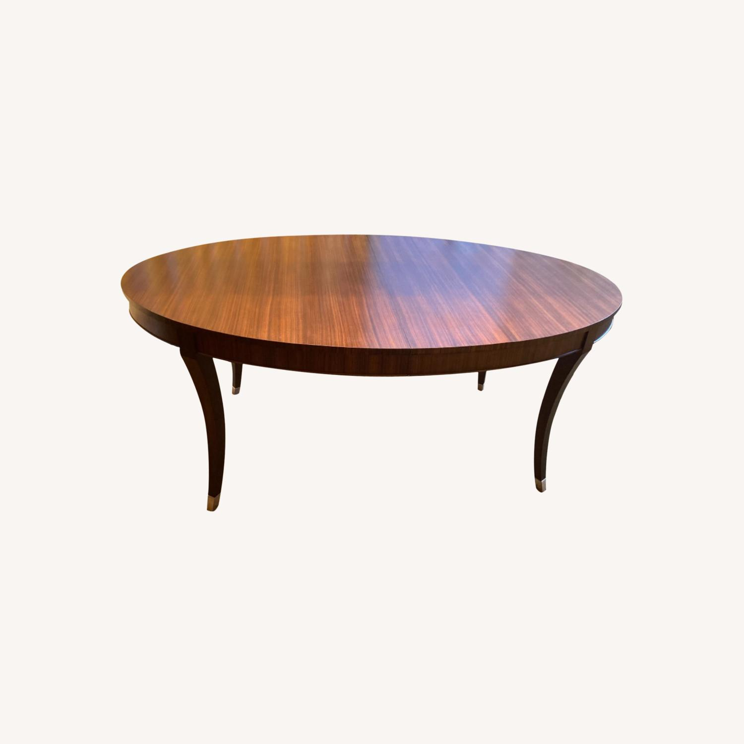 Oval Dining Table and 4 Chairs - image-0