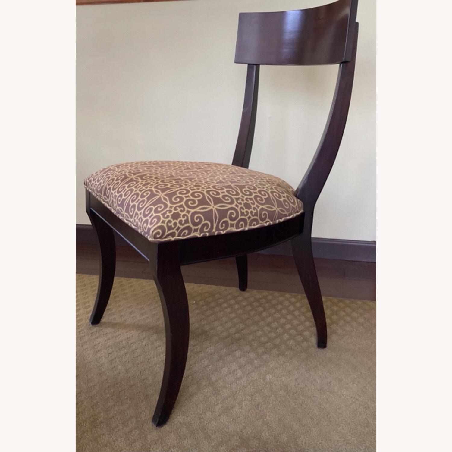 Oval Dining Table and 4 Chairs - image-8