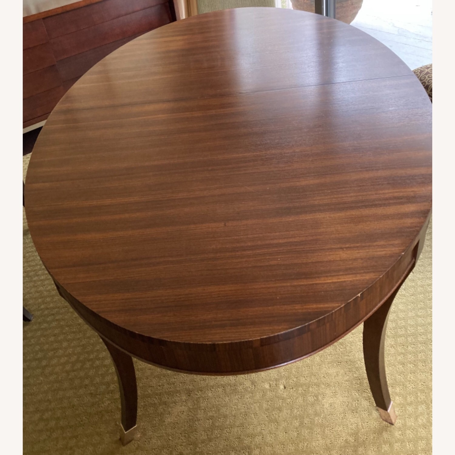 Oval Dining Table and 4 Chairs - image-7