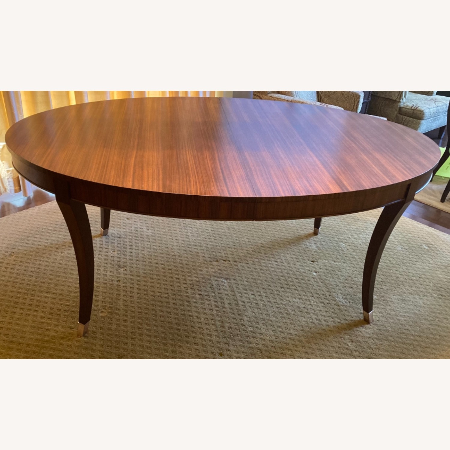 Oval Dining Table and 4 Chairs - image-2