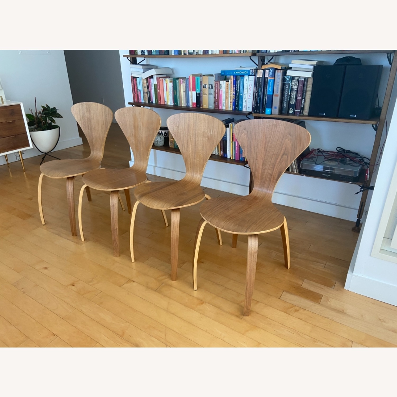 Cherner Replica Dining Chair Set - image-1