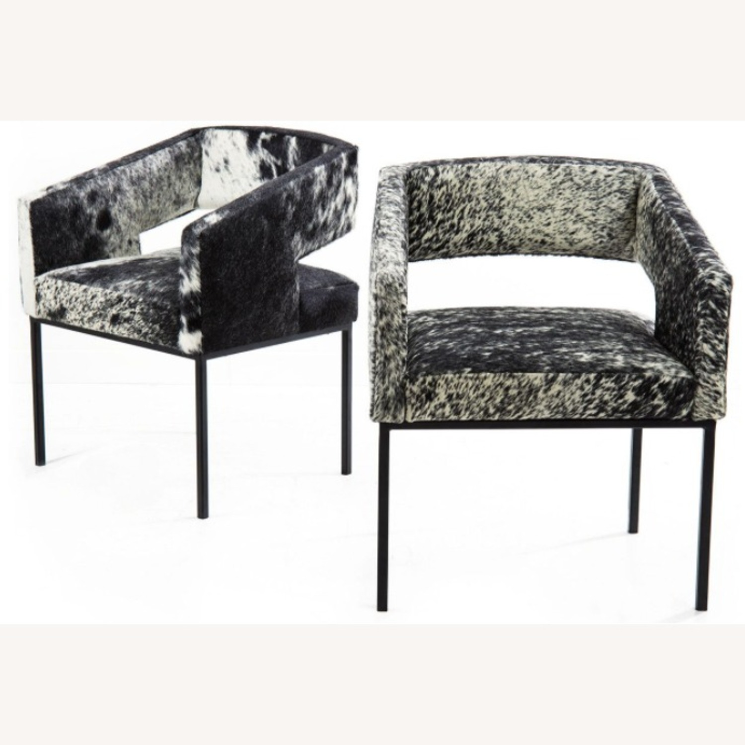 ModShop Open Back Chair in Cowhide - image-1