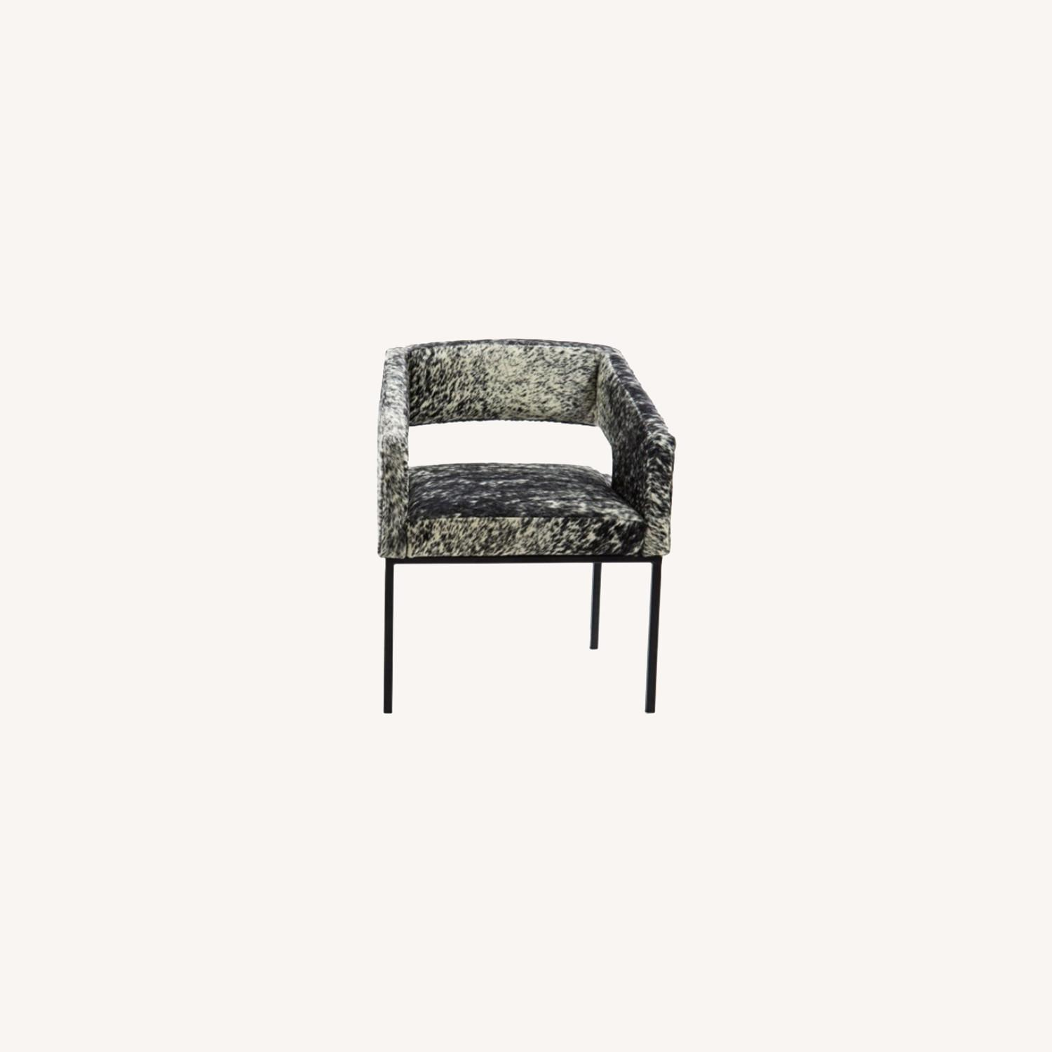 ModShop Open Back Chair in Cowhide - image-0