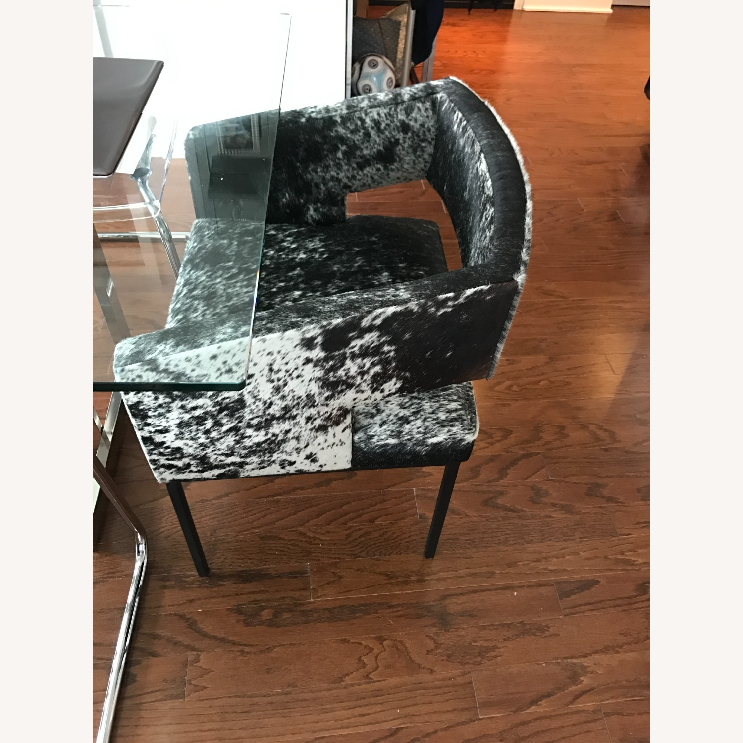 ModShop Open Back Chair in Cowhide - image-3