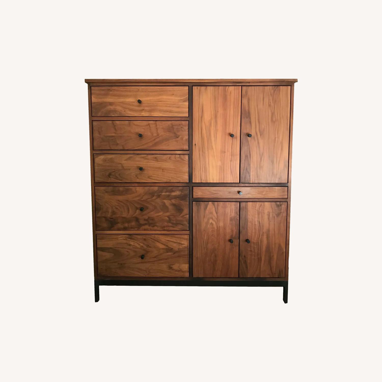 Room & Board Mid-Century Hudson Walnut Cabinet - image-0