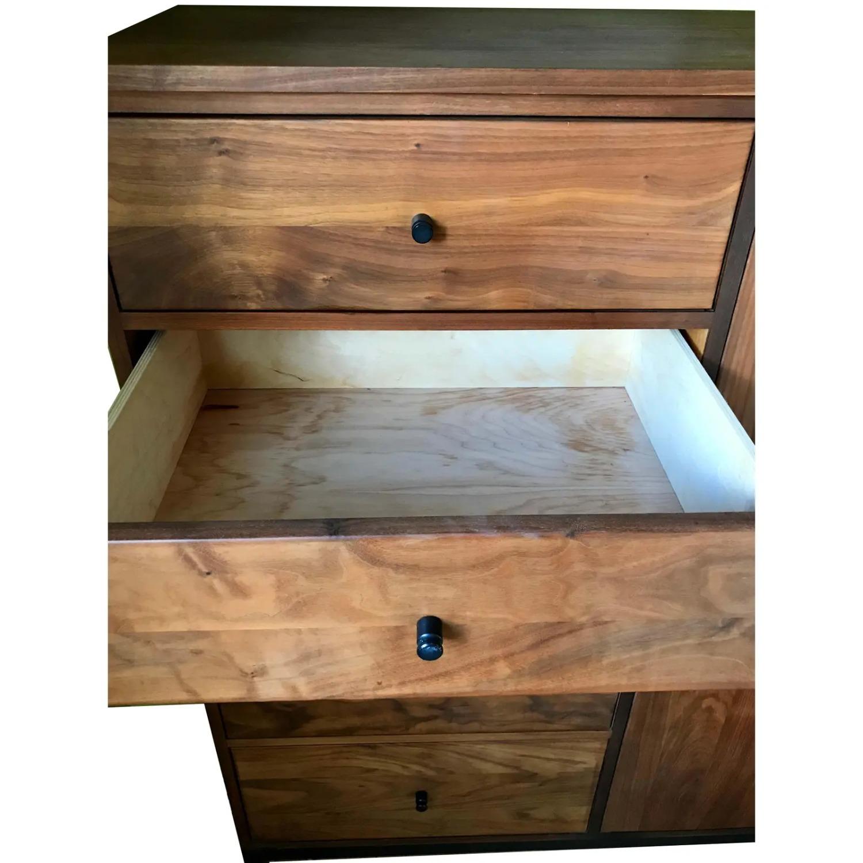 Room & Board Mid-Century Hudson Walnut Cabinet - image-10