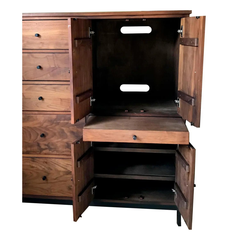 Room & Board Mid-Century Hudson Walnut Cabinet - image-2