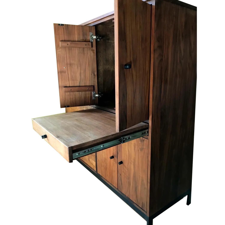 Room & Board Mid-Century Hudson Walnut Cabinet - image-12