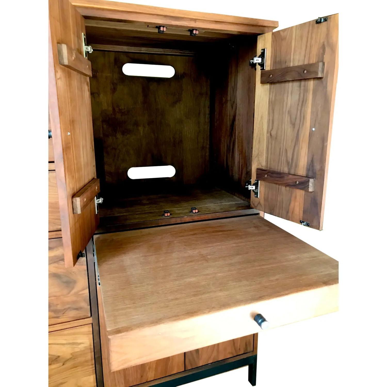 Room & Board Mid-Century Hudson Walnut Cabinet - image-5