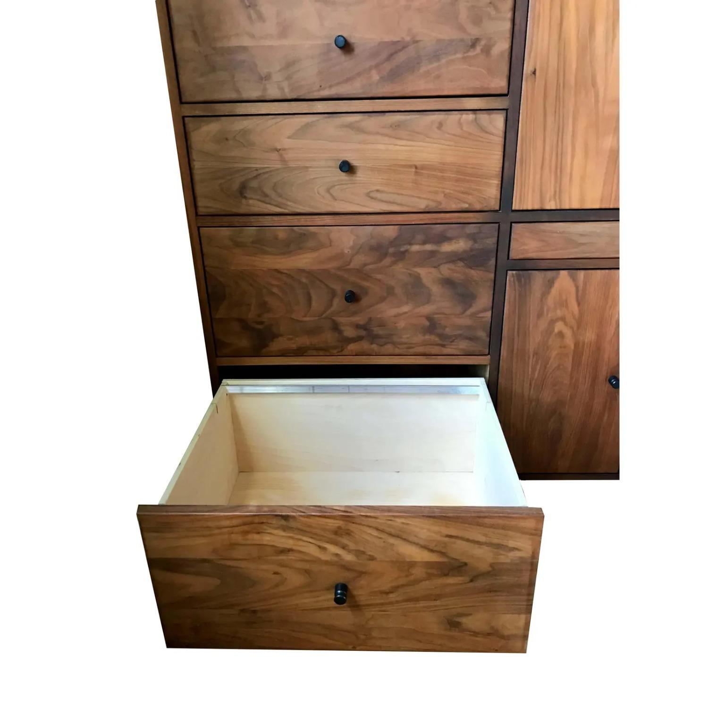Room & Board Mid-Century Hudson Walnut Cabinet - image-3