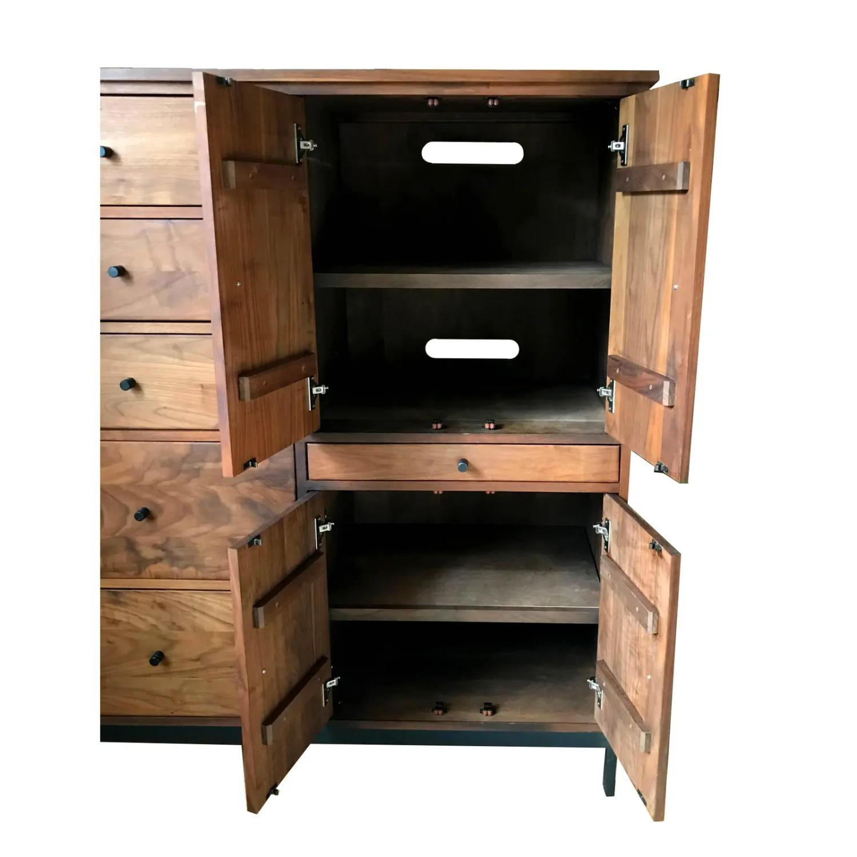 Room & Board Mid-Century Hudson Walnut Cabinet - image-11