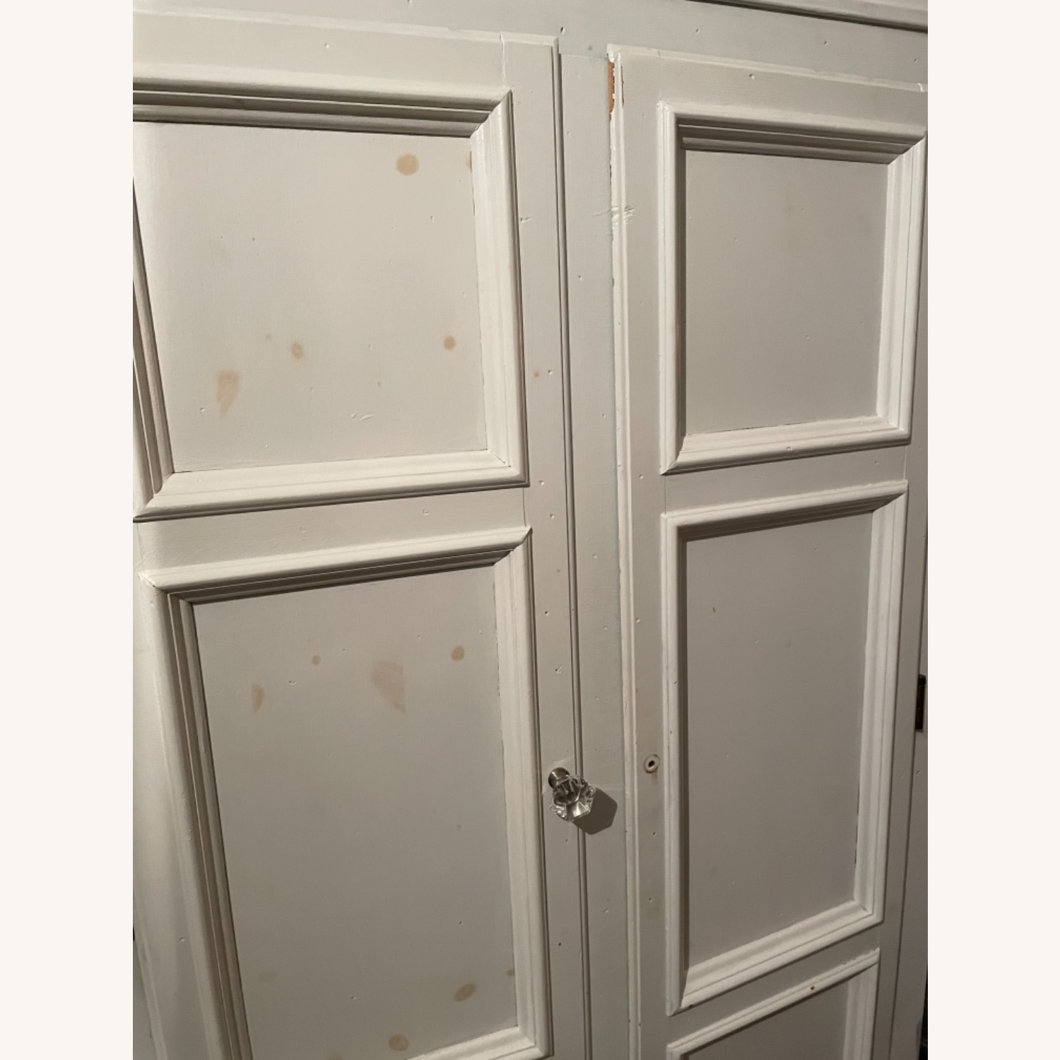 White with Interior Teal Armoire - image-15