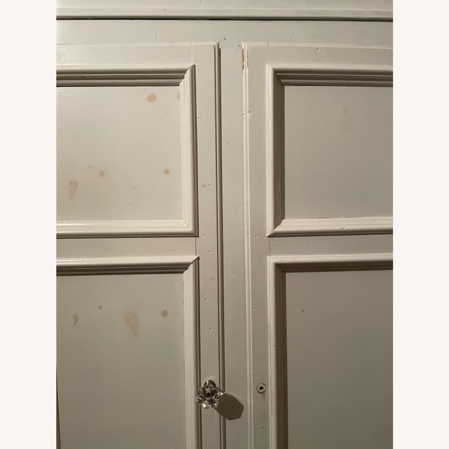 White with Interior Teal Armoire - image-14