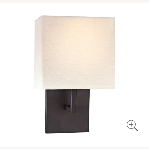 Used Kovacs Wall Sconce w Square Shade for sale on AptDeco