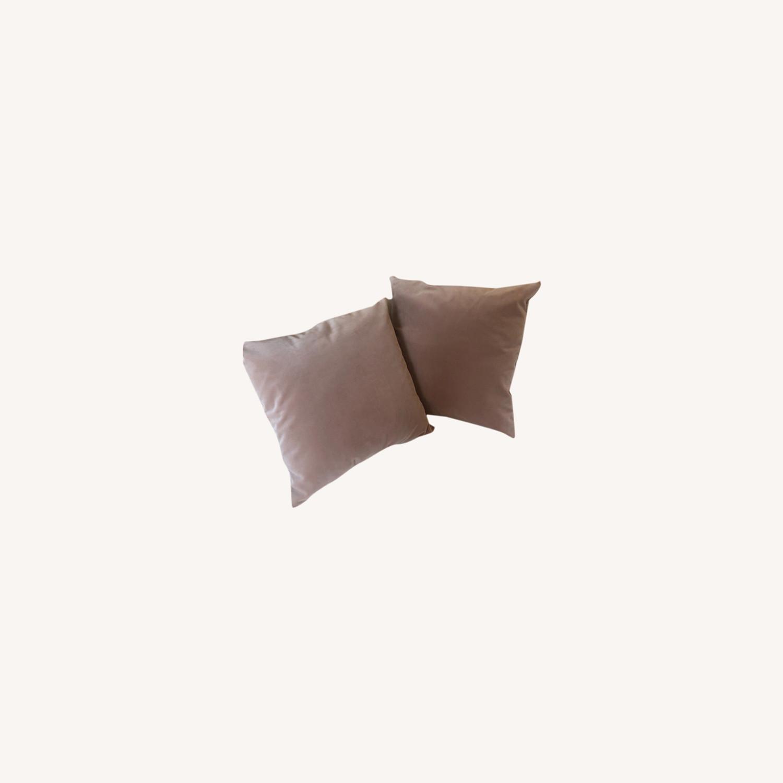 Little Design Mauve Pillow Set - image-0