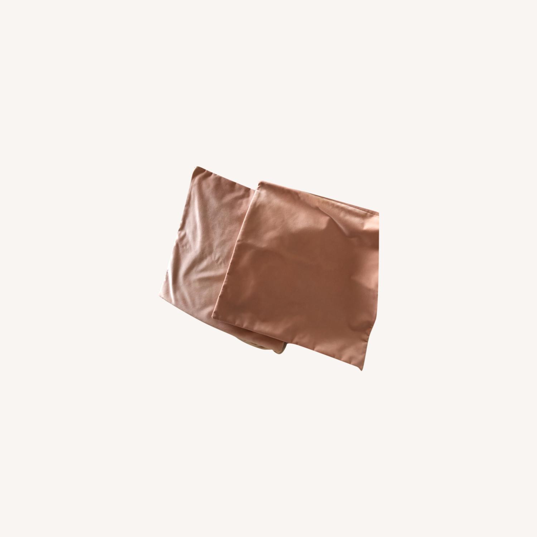 Little Design Blush Velvet Pillow Set - image-0