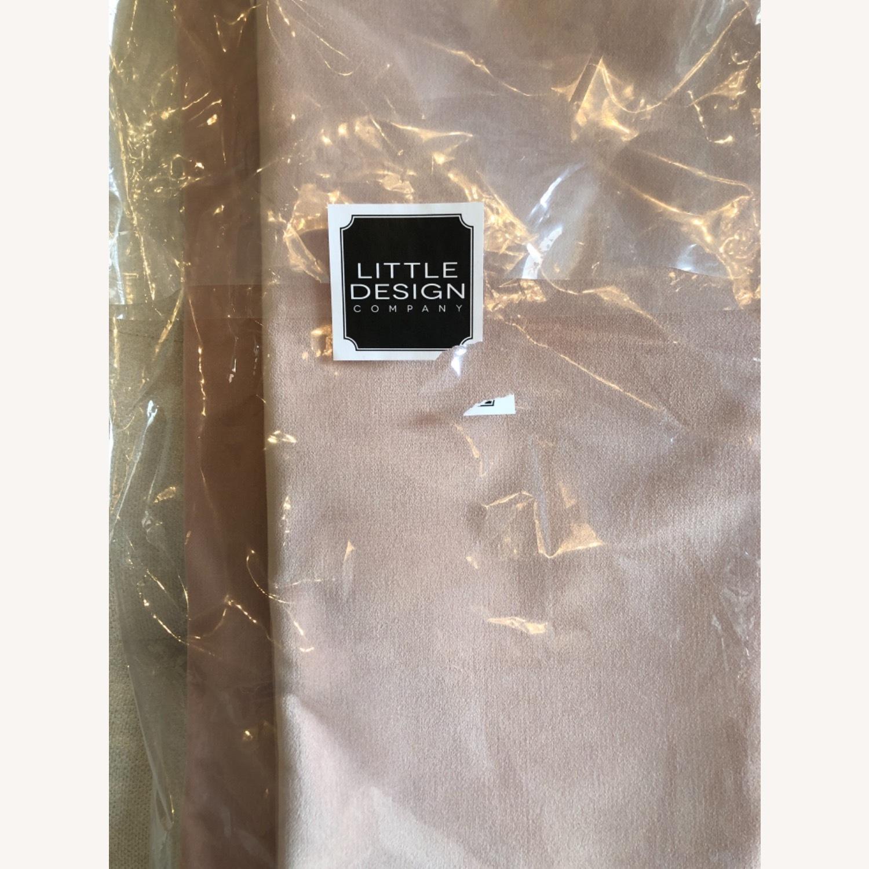 Little Design Blush Velvet Pillow Set - image-3